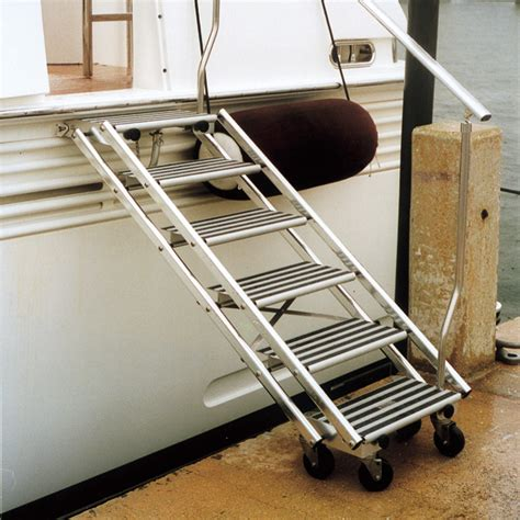 boat boarding stairs tracy international boarding stairs west marine