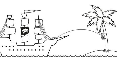 barcos para colorear de piratas barco pirata dibujo para colorear e imprimir