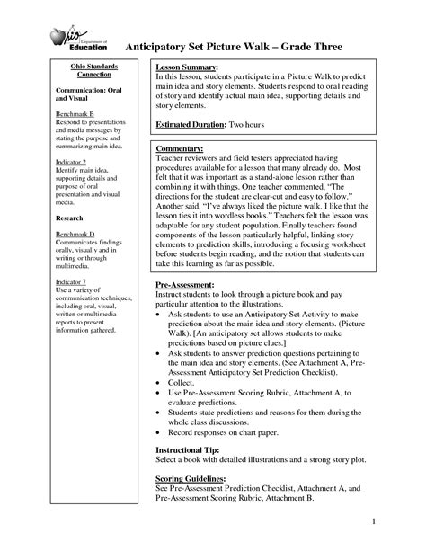 printable worksheets main idea and supporting details 14 best images of story events worksheets story