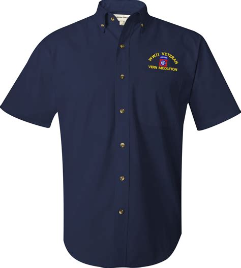 Handmade Dress Shirts - u s army custom embroidered dress shirts