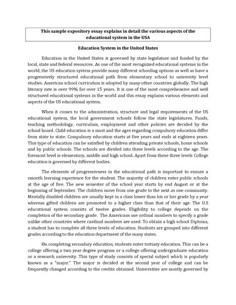 how to write a dissertation discussion high school high school expository essay sles