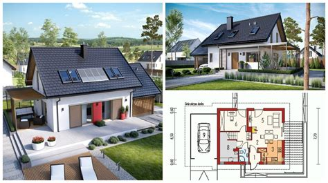 design tiny house render that shows the most beautiful small house design is