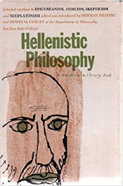 hellenistic philosophy introducing readings series 1 hellenistic philosophy selected readings in epicureanism