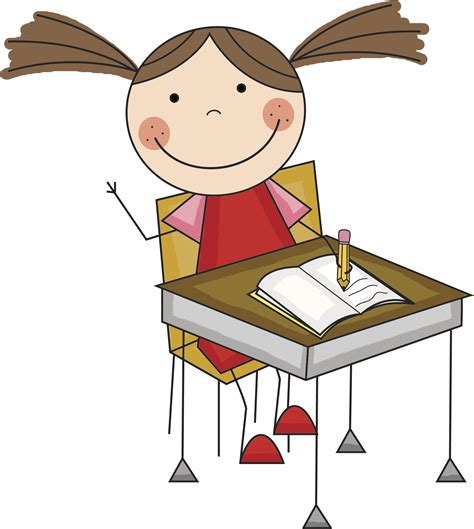 student at desk clipart child at desk clipart clipartsgram