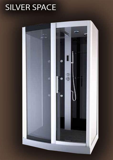 cabine integrale rectangulaire cabine int 233 grale rectangulaire 115x90 silver space aurlane