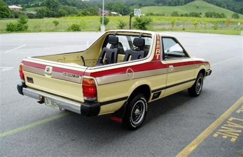 subaru truck with seats in bed 1982 subaru brat truck wanted one may still get one