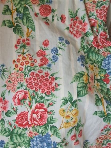 vintage flower curtains pretty vintage floral curtains