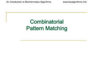 tree pattern matching algorithm ppt glomerular filtration powerpoint presentation id