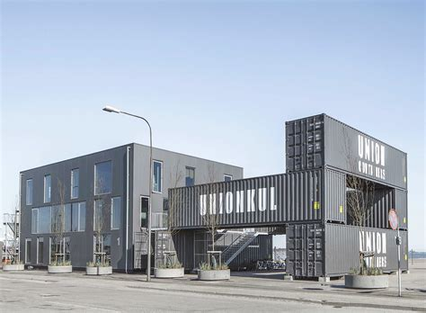 shipping containers as homes offices in williamsburg sustainable architecture portable low energy shipping