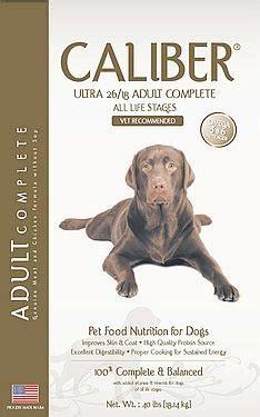 makanan anjing berkualitas caliber ultra produk aksesories untuk anjing anjingkita