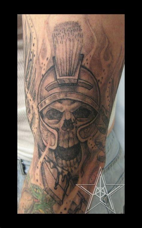 gallery for gt spartan skull tattoos