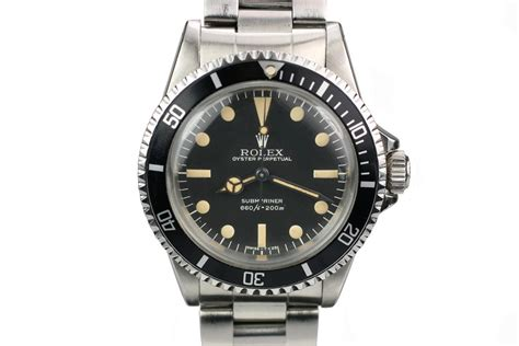Rolex Submarine Silver Matic 1979 rolex submariner ref 5513 for sale mens
