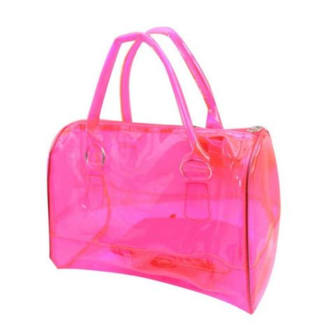 Jelly Bag 2in1 vogue jelly clear shoulder bag pvc 2in1
