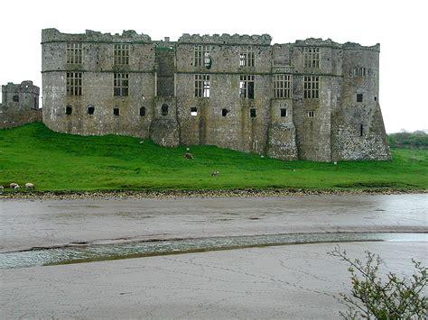 English Tudor Home by Carew Castle