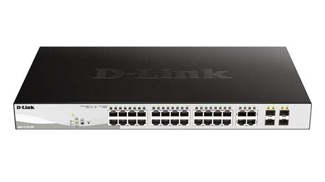 Dlink Dgs 1210 28 24port Gigabit Managed Switch Dgs1210 28 28 port poe gigabit smart switch including 4 gigabit sfp ports d link