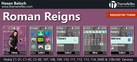 themes nokia 2690 themes roman reigns theme for nokia c1 01 c1 02 c2 00 107 108