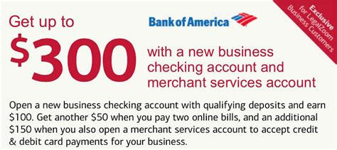open a new bank account offers bank of america business checking review 200 2 000
