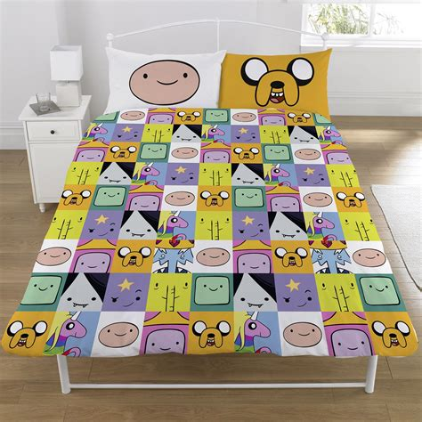 adventure time bedding adventure time duvet cover sets single double kids bedding