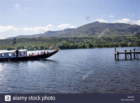 steam boat on coniston steam in cumbria stock photos steam in cumbria stock