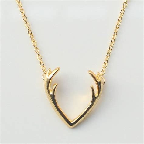 Accessorise With Some Beautiful Necklaces by 1000 Ideas About Antler Necklace On