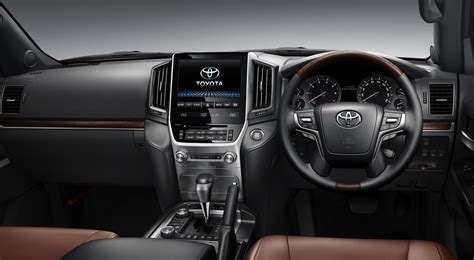 land cruiser interior 2016 toyota land cruiser 200 facelift launched in japan