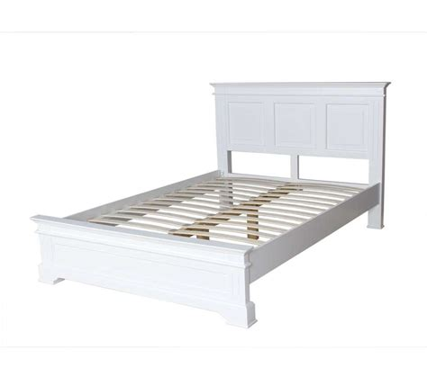 french elegance white king size bed frame