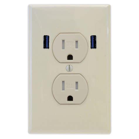 u socket 15 standard duplex ter resistant wall