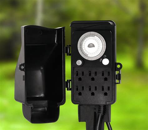 Outdoor Electrical Timers For Lights 17 Best Ideas About Electric Timers For Lights Outdoor