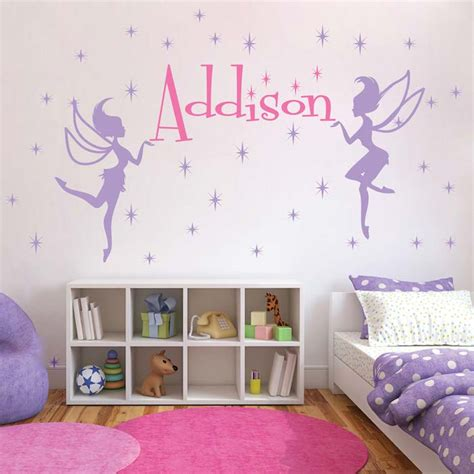 trendy wall design fairy wall decals trendy wall designs