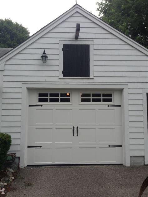 Mortland Overhead Door Steel Carriage House Garage Doors Modern Shed Boston By Mortland Overhead Door