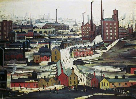 Industrial L by Industrial Landscape Ashton Lyne Uk Uk
