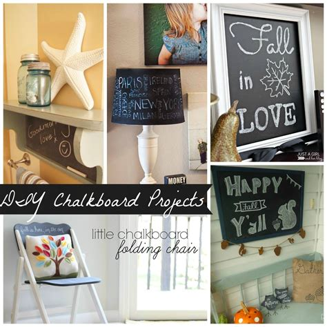 chalkboard diy projects give an outdated shelf new confessions of a serial