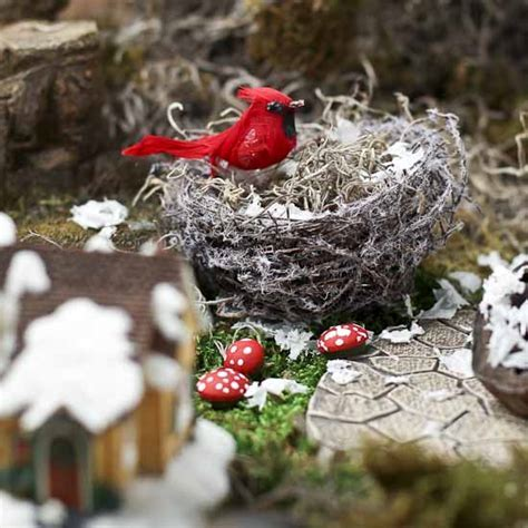 Snowy Twig Bird Nests   Birds & Butterflies   Basic Craft