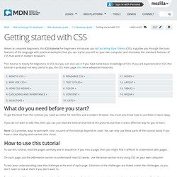css tutorial for experienced programmers css pearltrees
