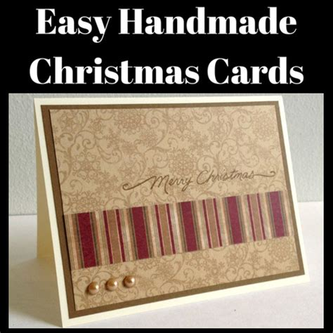 Easy Handmade Cards - easy handmade cards day to day adventures