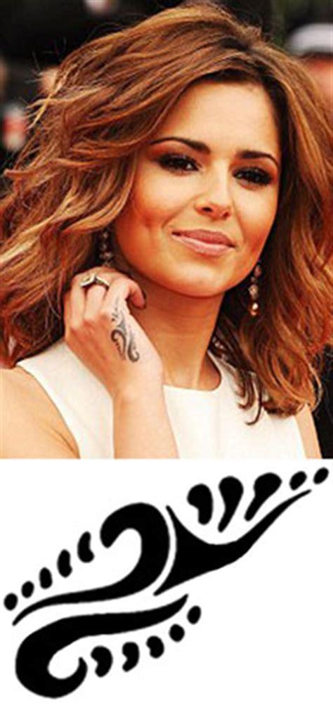 tattoo hand cheryl cole cheryl cole tribal hand temporary tattoos x 3 temporary