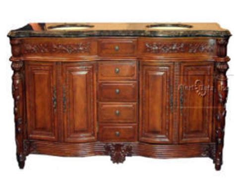 Stand Alone Vanity Granger54 Beautiful Stand Alone Bowl Pecan Vanity Cabinet