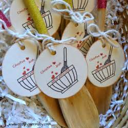 crafty in crosby bridal shower favors mix it with love