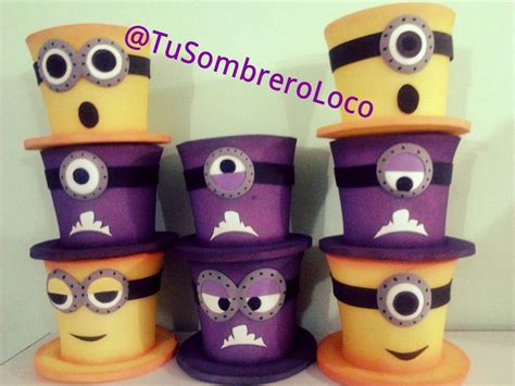 sombrero de minions 17 best images about sombreros de goma espuma on pinterest