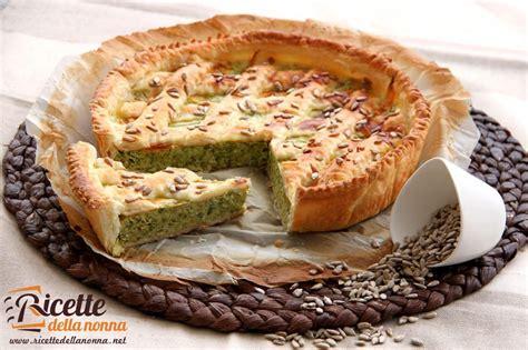 torta fiori di zucca torta rustica di zucchine e fiori di zucca ricette della