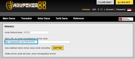 membuat game wap tutorial cara membuat link referral poker online