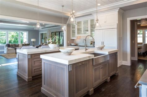 kitchens the double island design manifestdesign manifest a kitchen designed for entertaining 6 tips medford