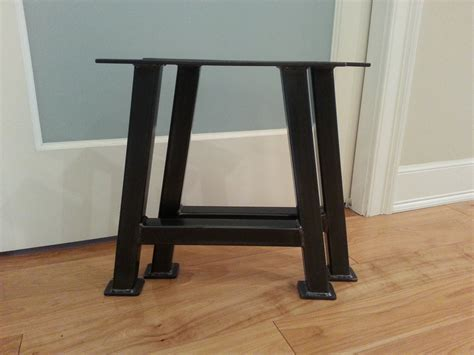bench with metal legs a frame metal bench legs legs steel bench legs