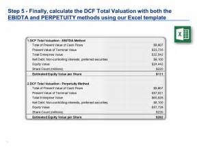 10 Best Dcf Model Template In Excel By Ex Deloitte Consultants Images On Pinterest Financial Discounted Flow Template