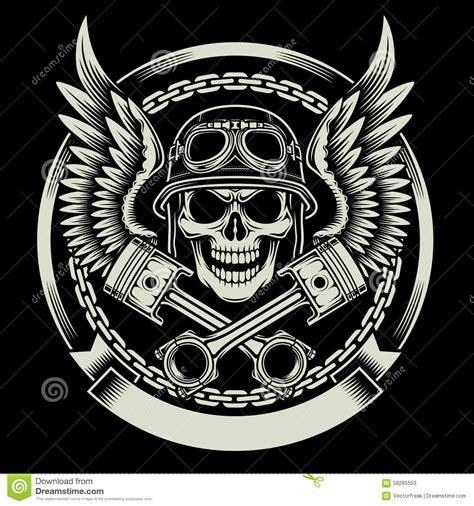 motor skull skull biker iskanje biker designs