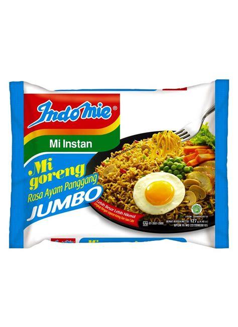 Indomie Goreng Jumbo by Indomie Mie Goreng Jumbo Ayam Panggang Pck 127g