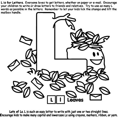 crayola coloring pages letters alphabet l coloring page crayola com