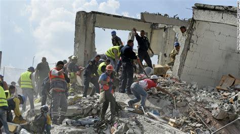 earthquake footage latest news on mexico earthquake cnn