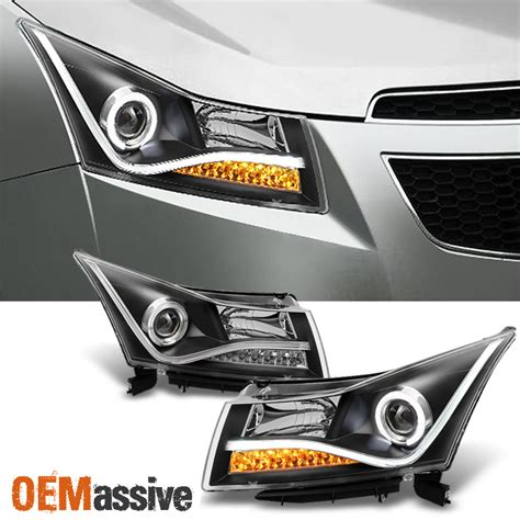 2014 chevy cruze light black 2011 2014 chevy cruze led light projector