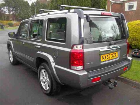 jeep 2007 57 commander 3 0 crd limited auto 7 seater 4 x 4